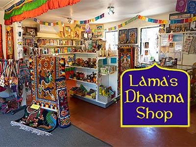 Lama's Dharma Shop internal